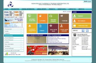 A screenshot of the online portal