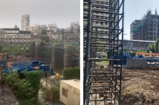 The elevated corridor at Kurla is expected to be ready by 2020 (Picture Courtesy: Rajendra B. Aklekar)