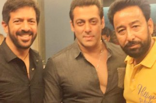 Darshan Aulakh with Salman Khan and Kabir Khan