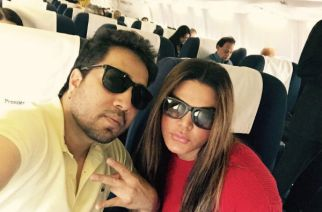 Mika Singh and Rakhi Sawant. Courtesy: filmibeat.com