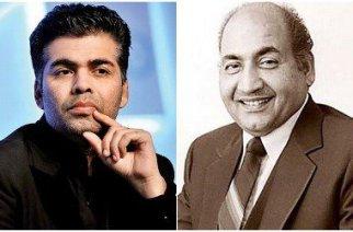 Karan Johar & Mohammed Rafi