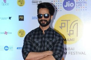 Shahid Kapoor at Jio MAMI 18th Mumbai Film Festival