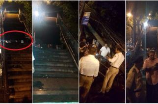 The Charni Road incident took place a day after a woman was injured due to a falling tile at Elphinstone Road station (Picture Courtesy: Sudesh Naik)