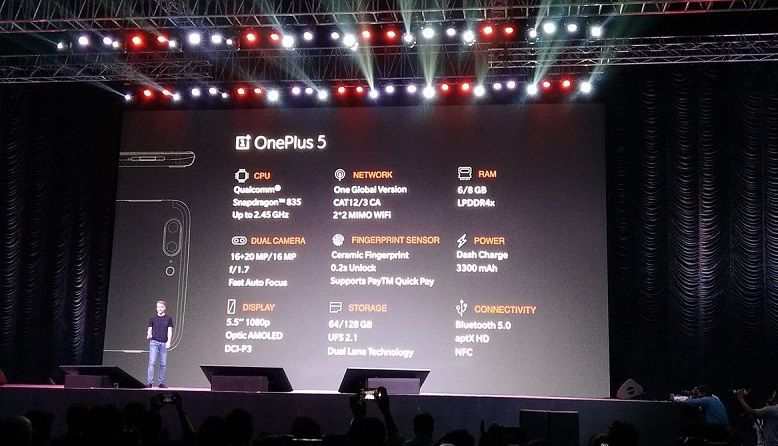 OnePlus 5 launched in India, on sale now with prices starting Rs 32,999