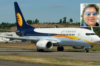 Birju confessed that he had placed the 'threatening note' to destabilise operations in the Jet Airways flight (Inset: Salla Birju. Courtesy: Zoom4India)