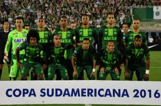 Brazil's Chapecoense football team