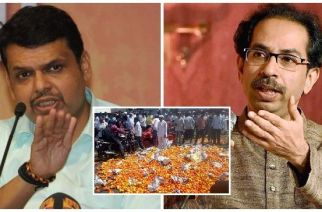 Sena ministers did not attend the cabinet meet citing the absence of Uddhav Thackeray