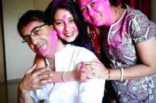 Pratyusha and her family