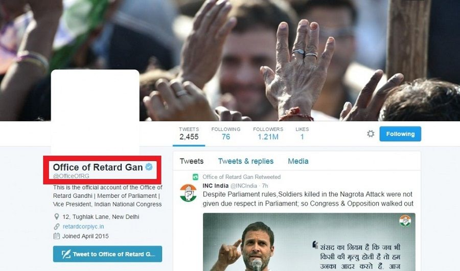 Rahul Gandhi's Twitter account hacked & 'abused', Congress cries conspiracy 3