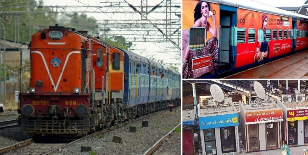 Railways set to earn Rs 2000 crore by leasing space to banks for ATMs, advertisers under new policy