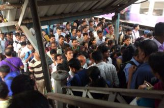 Railways has set up another high-level committee to probe the 18-month long delay in issuing tender for the new foot-over bridge at Elphinstone Road station (Crowd at Elphinstone Road station bridge)