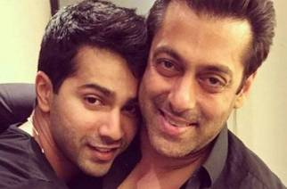 Varun and Salman. Picture Courtesy : India today