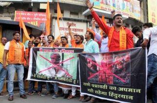 A protest against Padmavati in Nagpur (Representational Image)