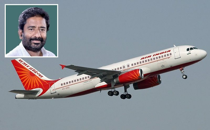 Shiv Sena MP hits Air India employee with slipper, claims the airline gave him economy class seat