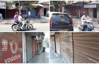 Hundreds of shops around the Sion Koliwada area were shut on Thursday (Staff Photo)