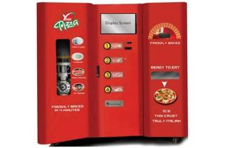 Yess Pizza vending machine