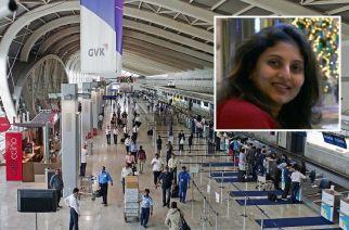 Mumbai International Airport (inset: Dr. Gayatri Patankar, courtesy: mymedicalmantra.com)