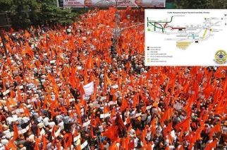 The Maratha Kranti Morcha will start from Jijamata Udyan in Byculla at 11 am and culminate at Azad Maidan in south Mumbai at 5 pm (Representational Image)