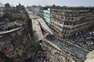 Under construction flyover collapses in Kolkata, claims 17 lives