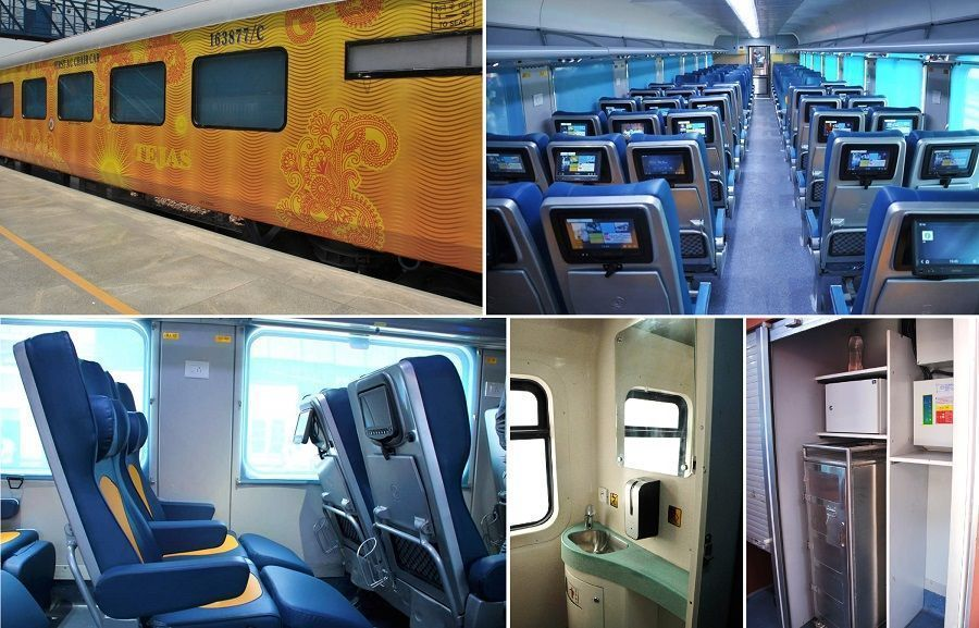 Video: Inside the luxurious Mumbai-Goa Tejas Express, flag off from CST on May 22