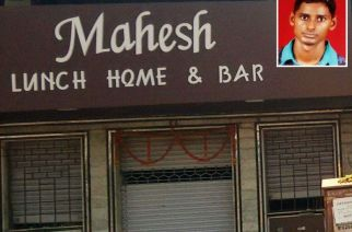 One of the restaurants where the accused worked as a waiter (inset: Chandra Shekhar)