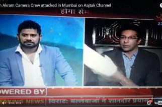 Snapshot from the live coverage of the telecast