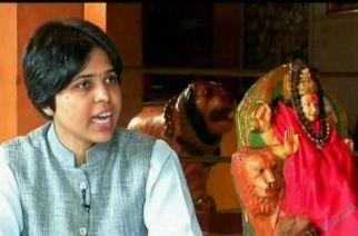 Woman activist Trupti Desai