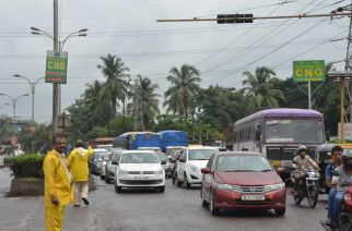 Traffic at Rabale. Image Courtesy : Vijay Singh