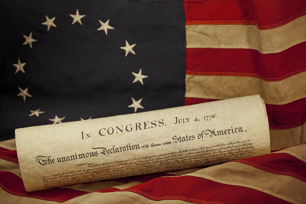 American Revolutionary War Independence Day July 4