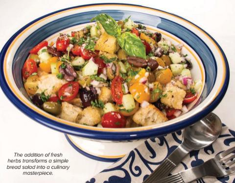 Bread Salad dining, Plano Profile