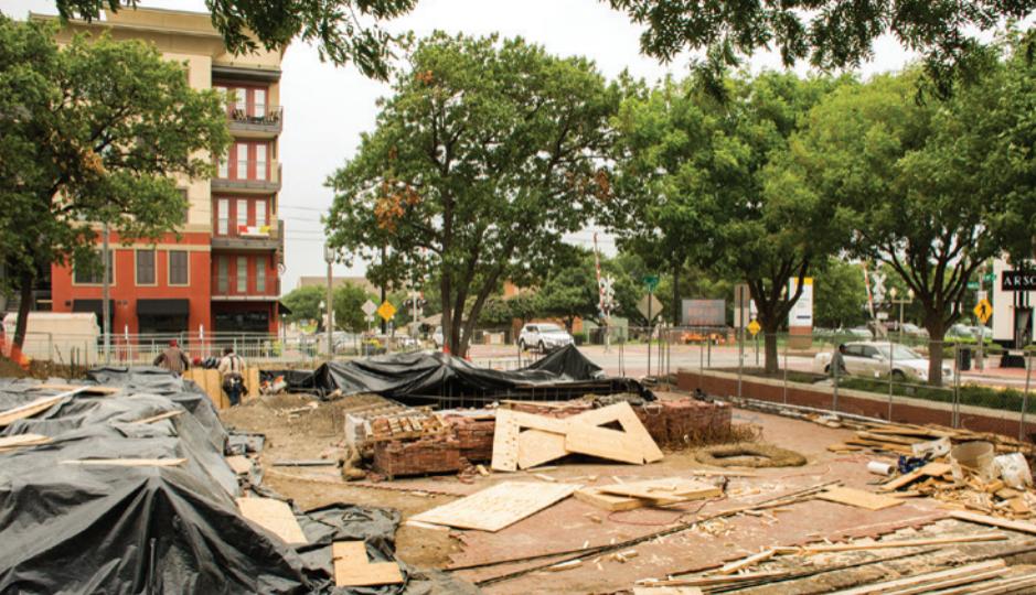 Historical Downtown Plano Mcall Plaza