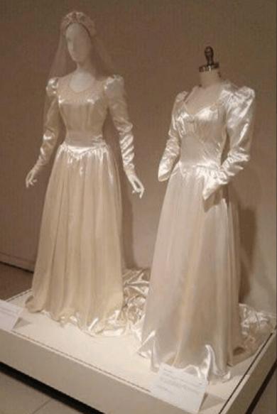 vintage wedding dress, High Street Antique Mall Plano