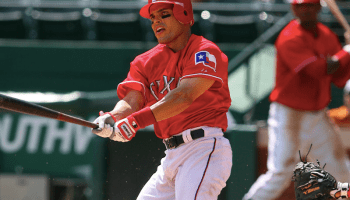 Ivan Pudge Rodriguez, Texas Rangers