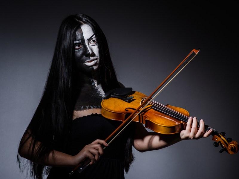 halloween violin, spooky symphony