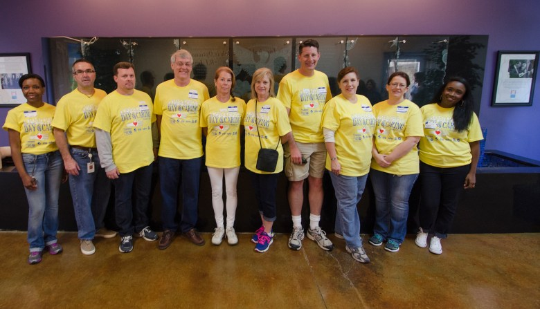 pepsico day of caring, childrens advocacy center collin county