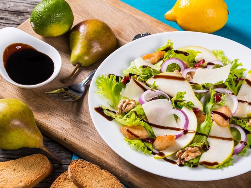 Pear Cranberry Salad, Recipe, Plano Profile