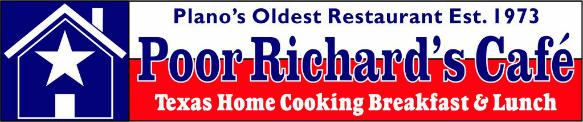 poor richards cafe