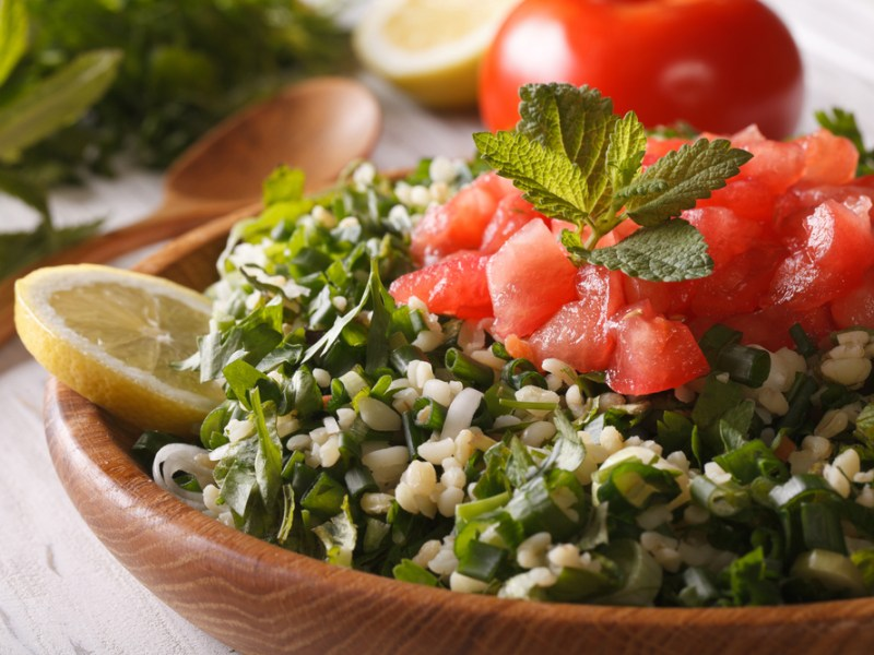 Tabbouleh, Plano Profile, recipe