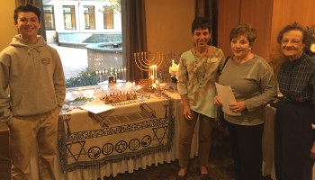 Hanukkah Brandon Harris Marilyn Israel Greta BeckermanMinnie Cohen