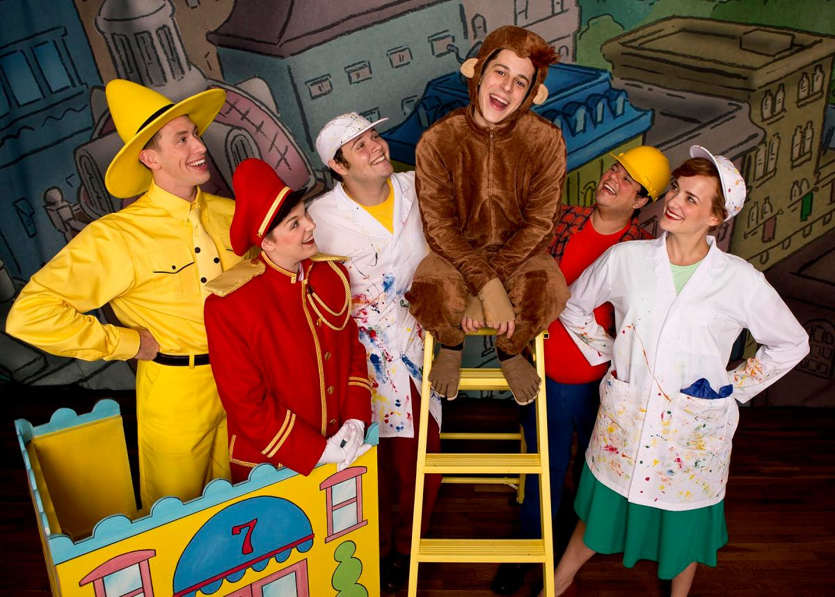 """""""Curious George and The Golden Meatball"""" at the Eismann Center"""