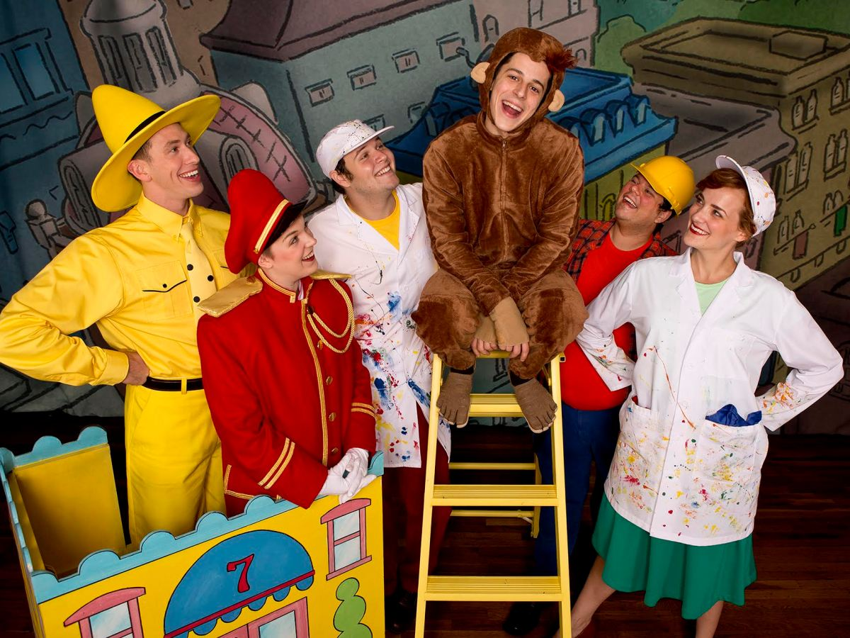 """Curious George and The Golden Meatball"" at the Eismann Center"