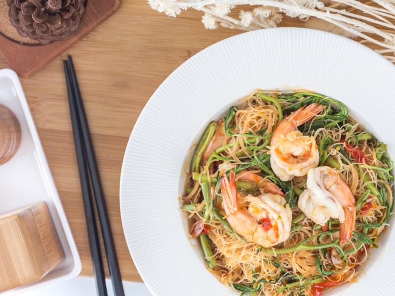 shrimp vermicelli, recipe