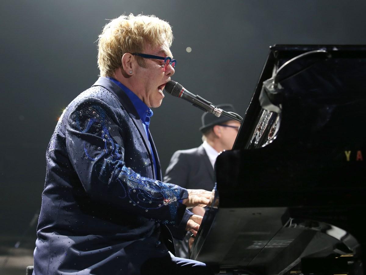 elton john music artist singer