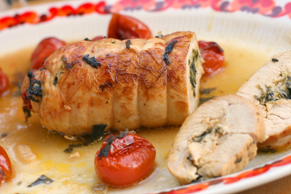 recipe turkey roulade