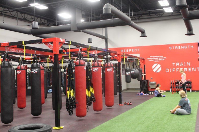 ufc gym workout boxing