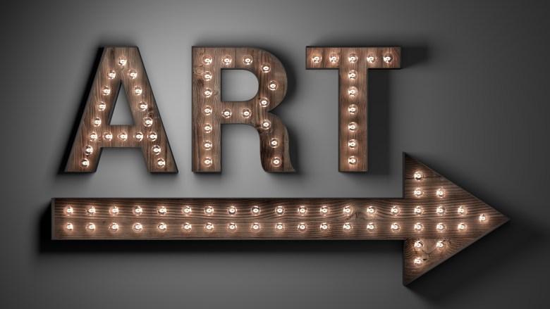 art sign