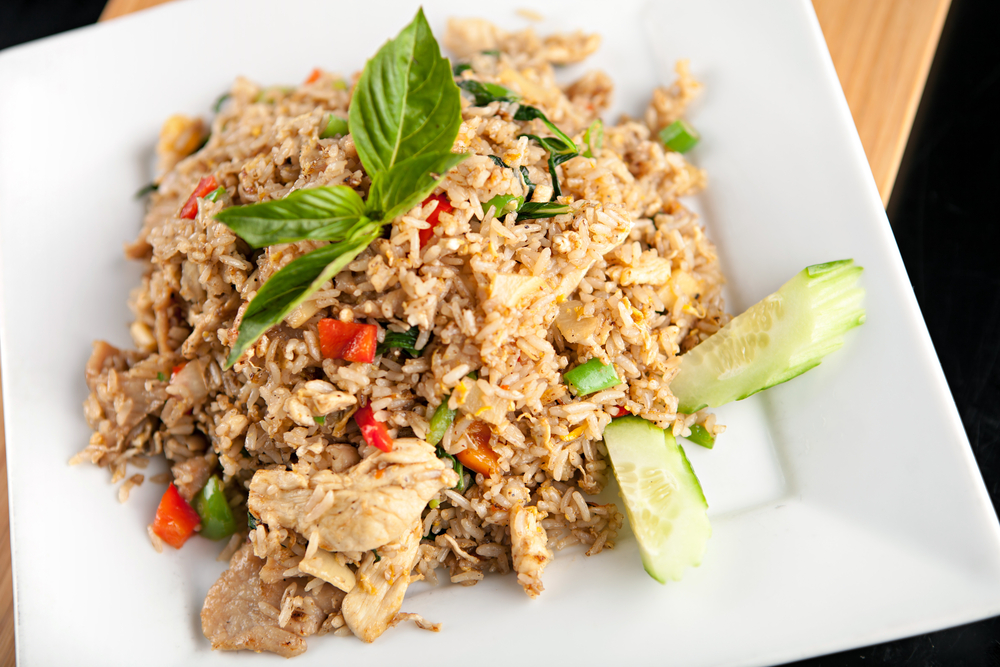 recipe vegetable fried rice chicken
