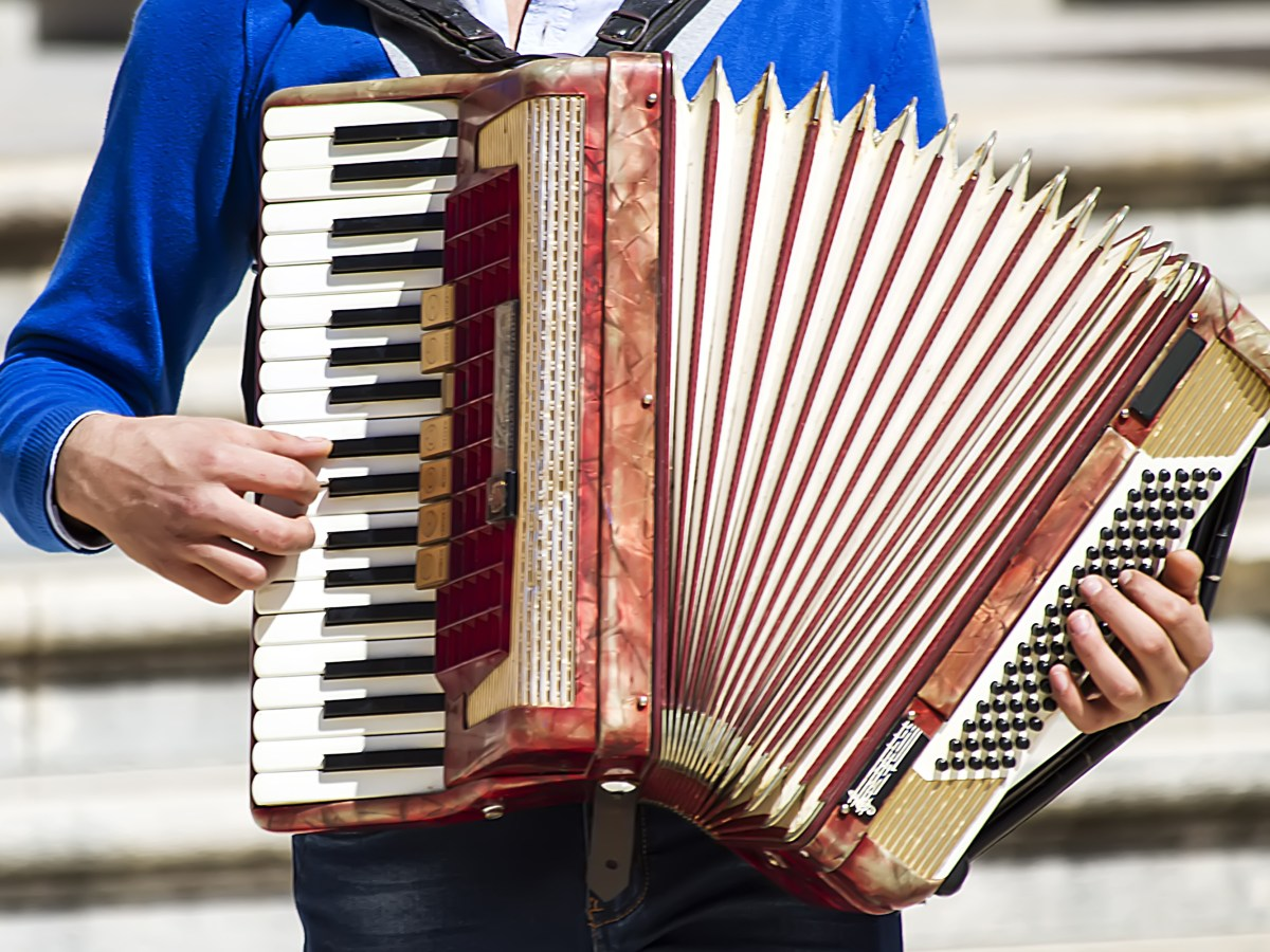 accordion play instrument