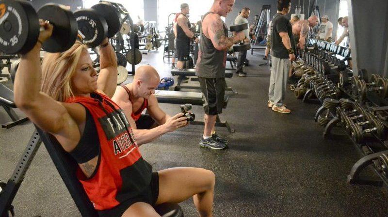 dani reardon ian schofield fitcon2016 dallas bodybuilding hustle