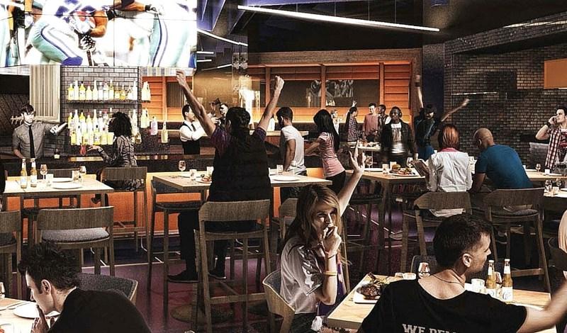Dallas Cowboys Stadium restaurant
